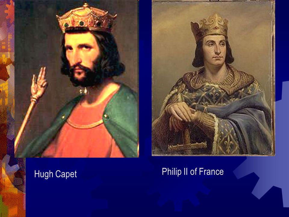 Hugh Capet Philip II of France