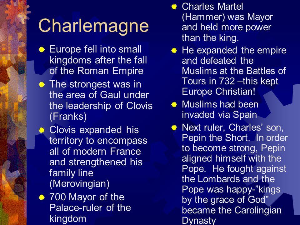 CLOVIS CHARLES MARTEL CHARLEMANGE