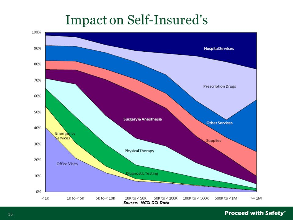 16 Impact on Self-Insured s Source: NCCI DCI Data