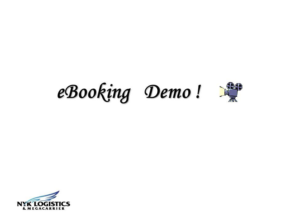 eBooking Demo !