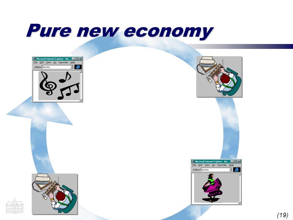 (19) Pure new economy