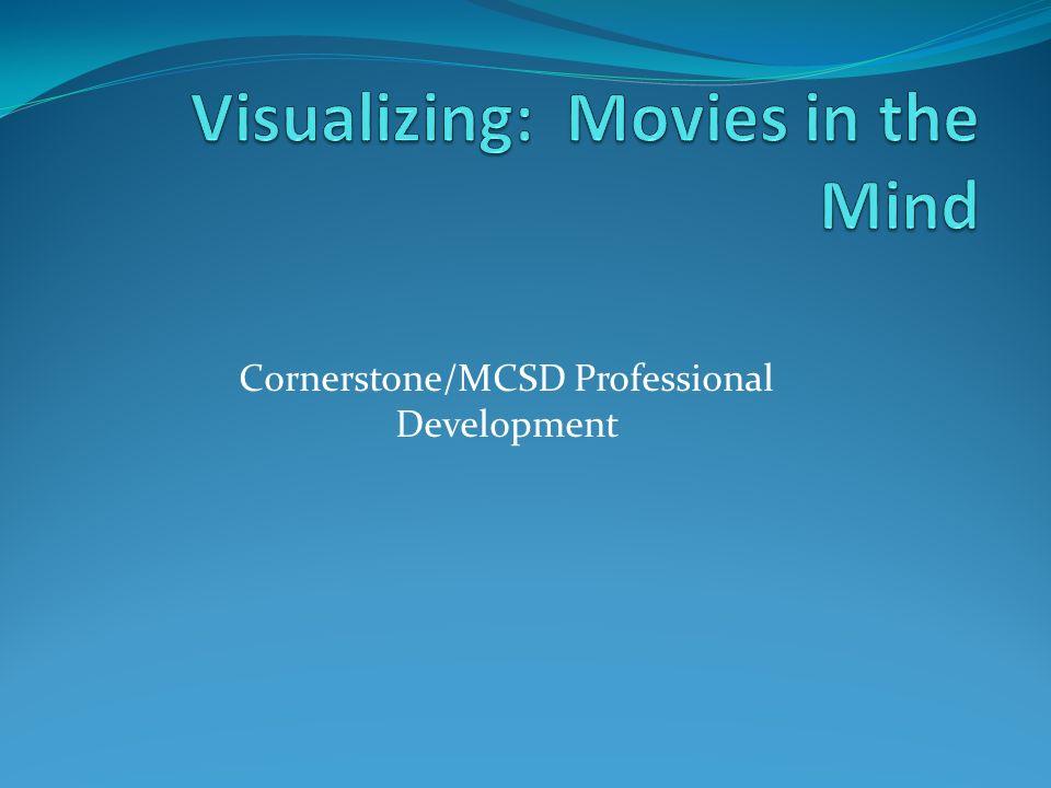 Cornerstone/MCSD Professional Development