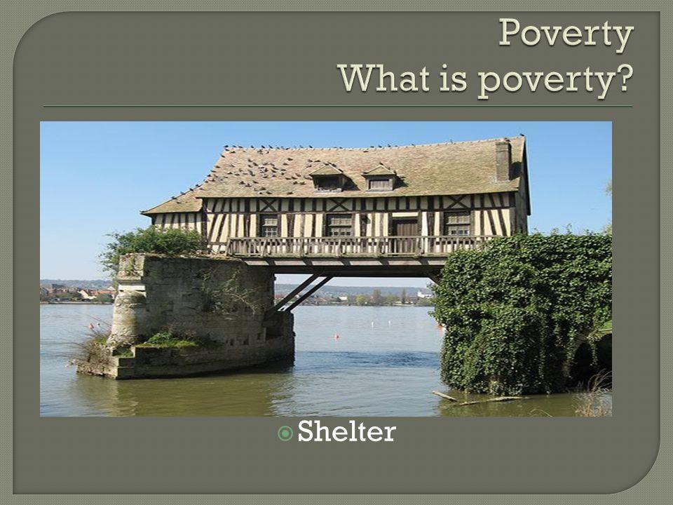 . Shelter