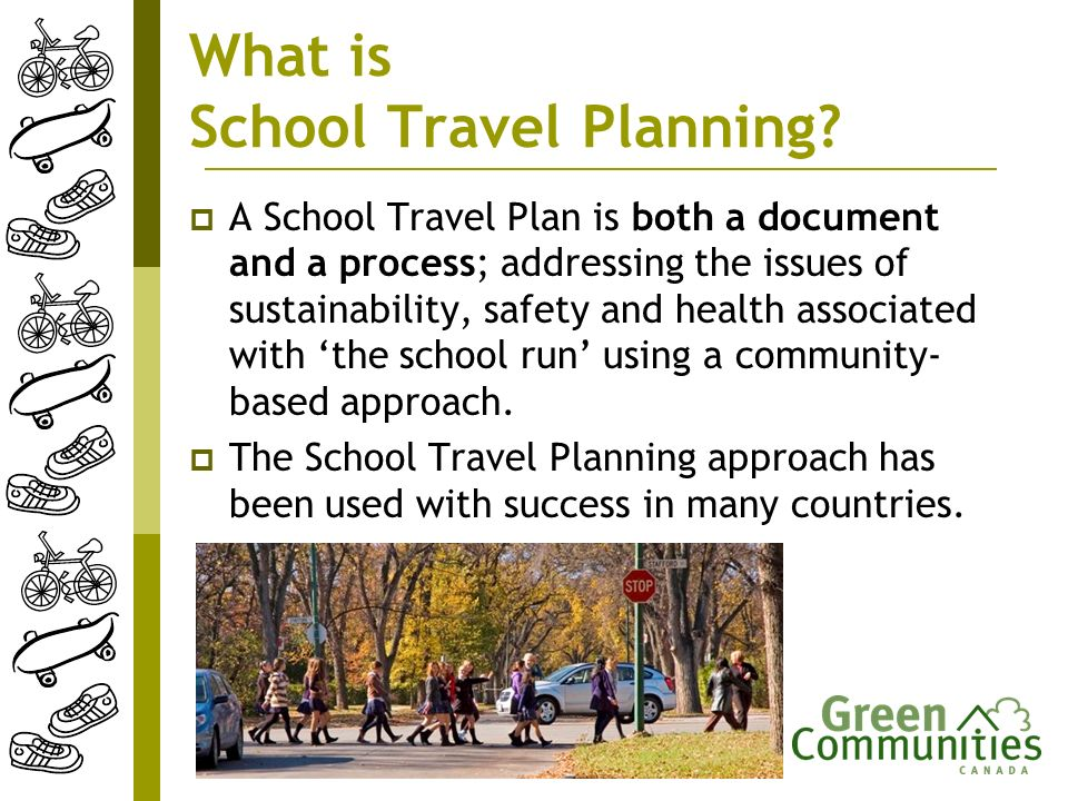 What is School Travel Planning.