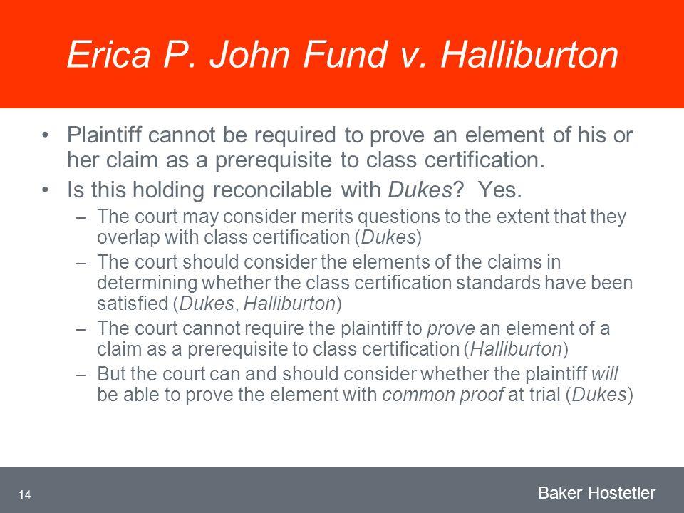 14 Baker Hostetler Erica P. John Fund v.