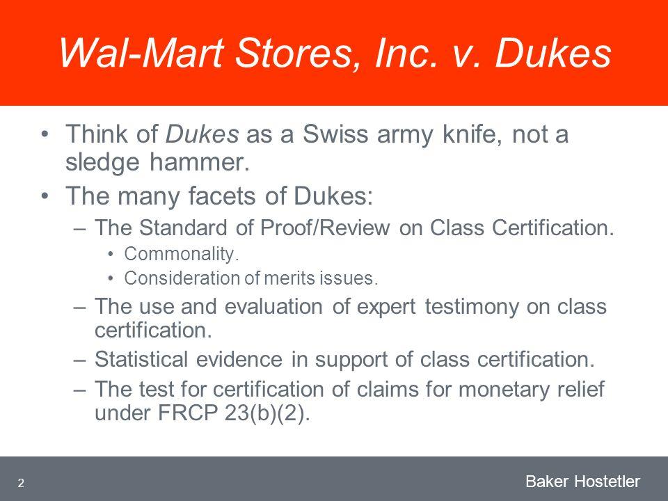 2 Baker Hostetler Wal-Mart Stores, Inc. v.