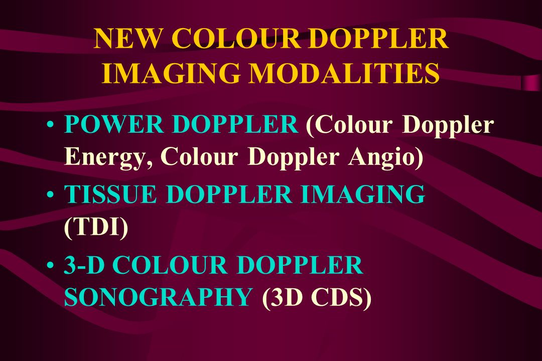 COLOUR FLOW MAPPING