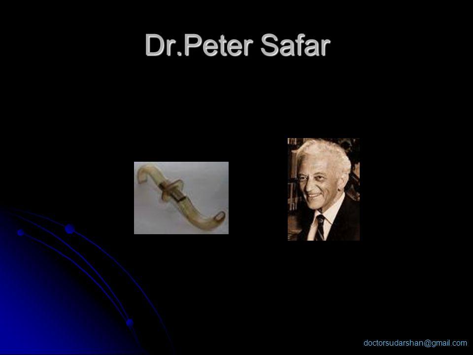 doctorsudarshan@gmail.com Dr.Peter Safar