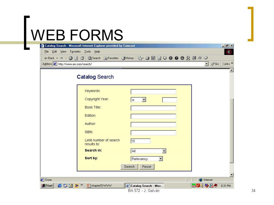 BA 572 - J. Galván34 WEB FORMS