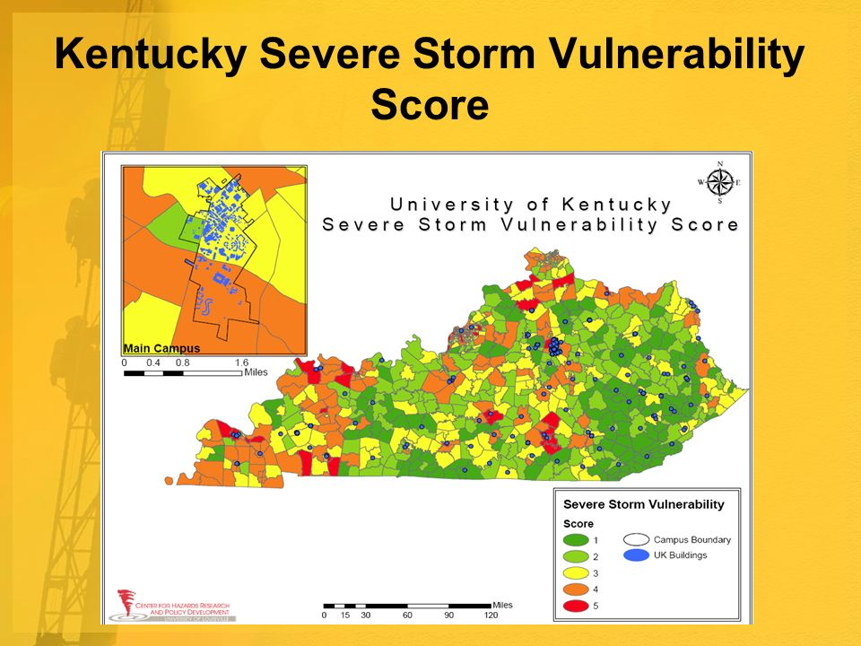 Kentucky Severe Storm Vulnerability Score
