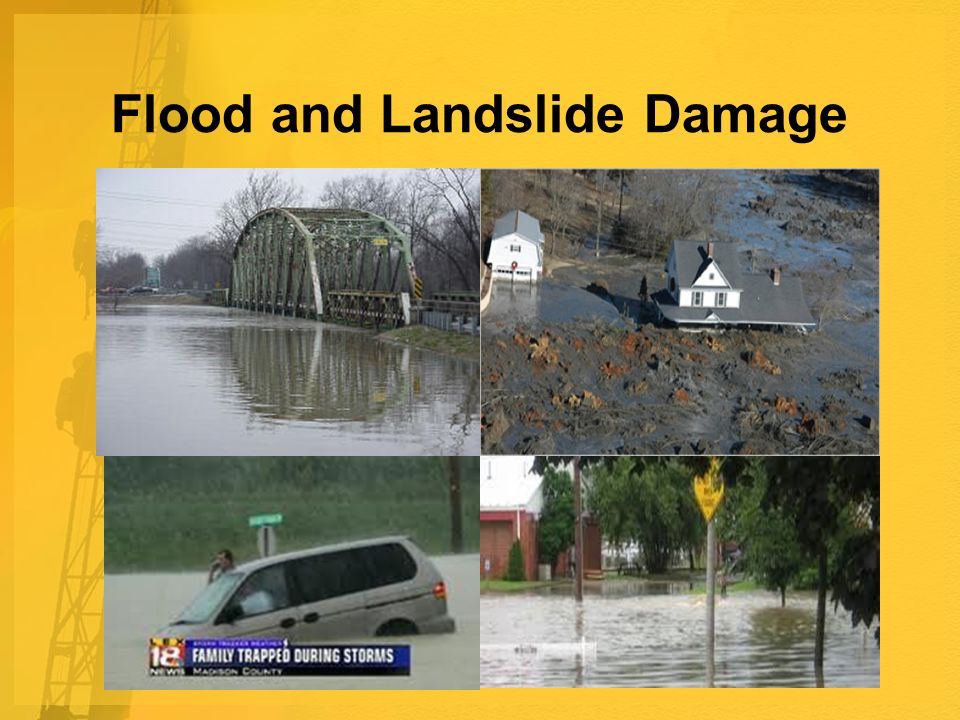 Flood and Landslide Damage