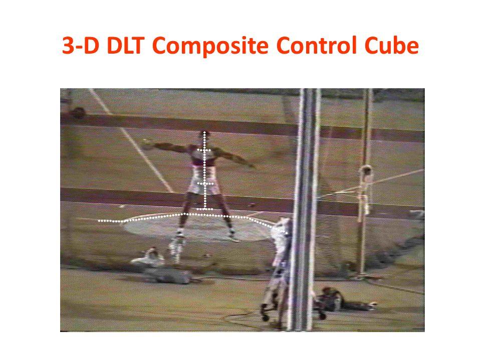 3-D DLT Composite Control Cube