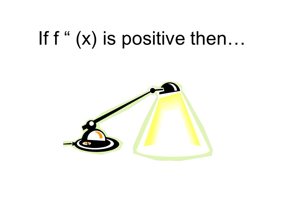 If f (x) is positive then…
