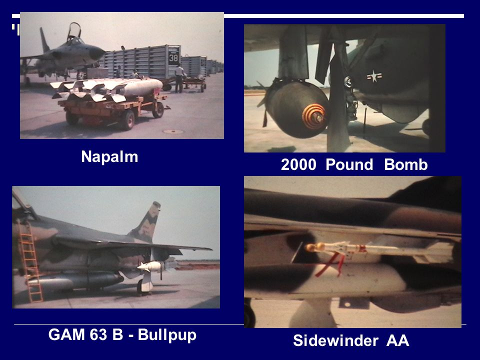 GAM 63 B - Bullpup Napalm Sidewinder AA 2000 Pound Bomb