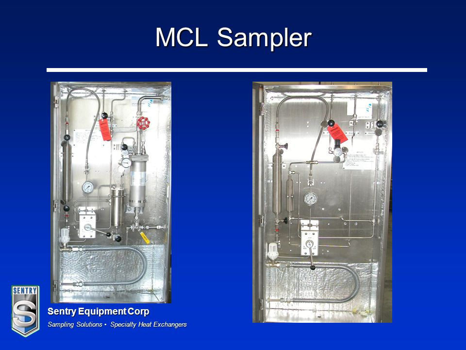 Sentry Equipment Corp Sampling Solutions Specialty Heat Exchangers MCL Sampler