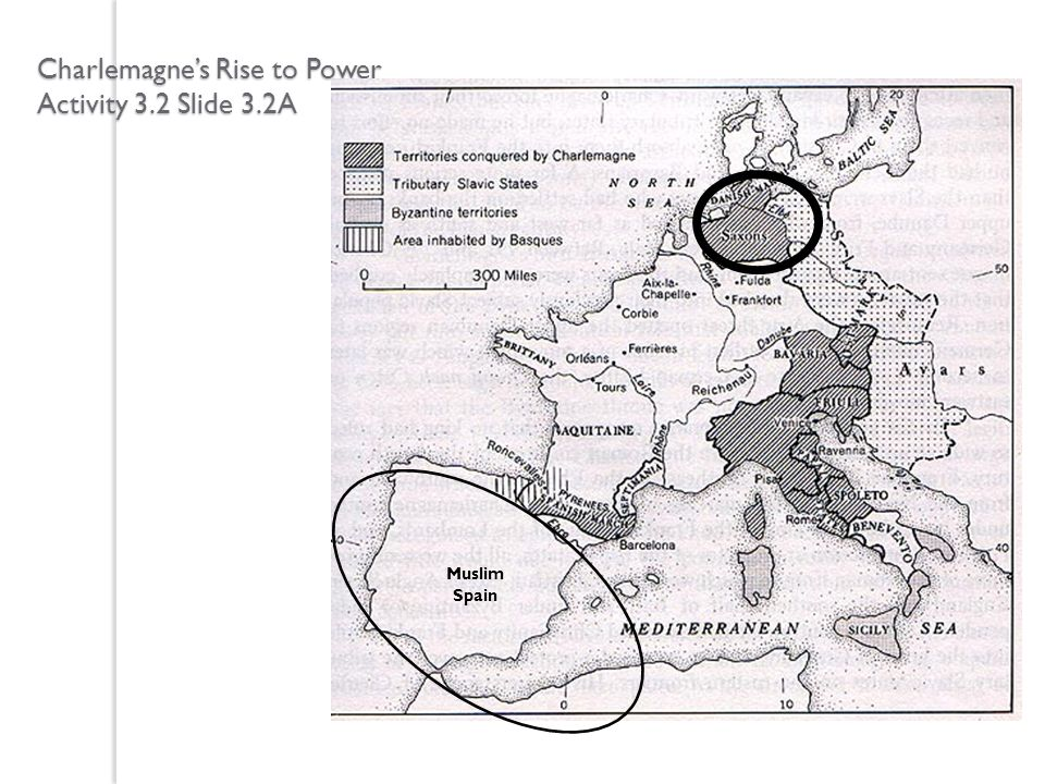 Charlemagnes Rise to Power Activity 3.2 Slide 3.2A Muslim Spain