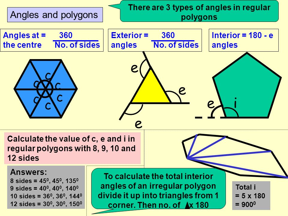 Angle calculations a 72 0 21 0 Angles in a half turn = 180 0 Angles in a full turn = 360 0 162 0 b 135 0 Opposite angles are equal 153 0 c d e Angles in a triangle = 180 0 j12 0 35 0 F angles are equal 57 0 hi Z angles are equal 42 0 fg 98 0 73 0 k l Angles in a quadrilateral = 360 0 Angles in an isosceles triangle m 8080 Use the rules to work out all angles