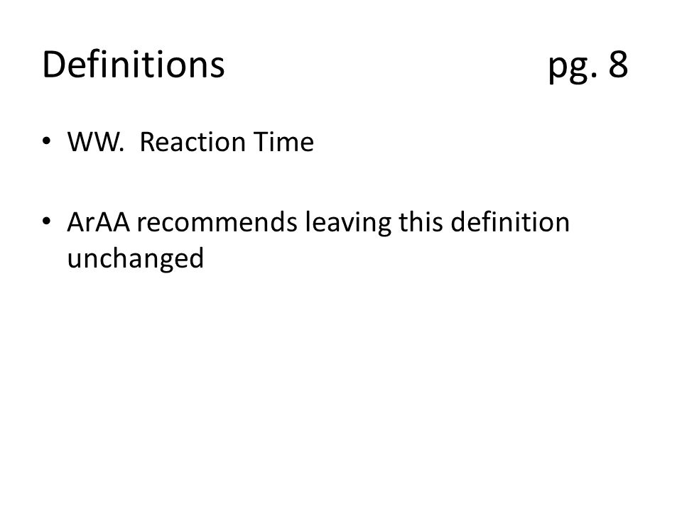 Definitions pg.8 ZZ. Service Area Why is this defined again.