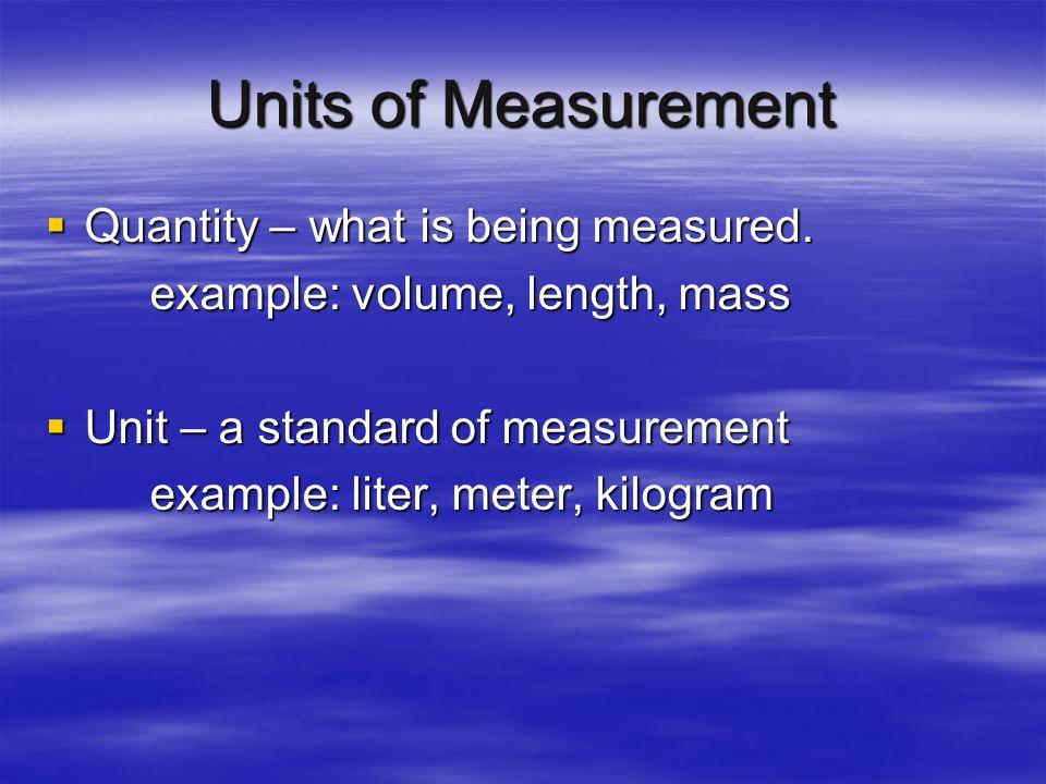 Qualitative and Quantitative Qualitative Qualitative – describes qualities, characteristics, textures, etc. Descriptions without numbers Quantitative