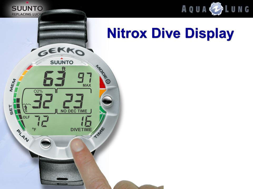 Nitrox Dive Display