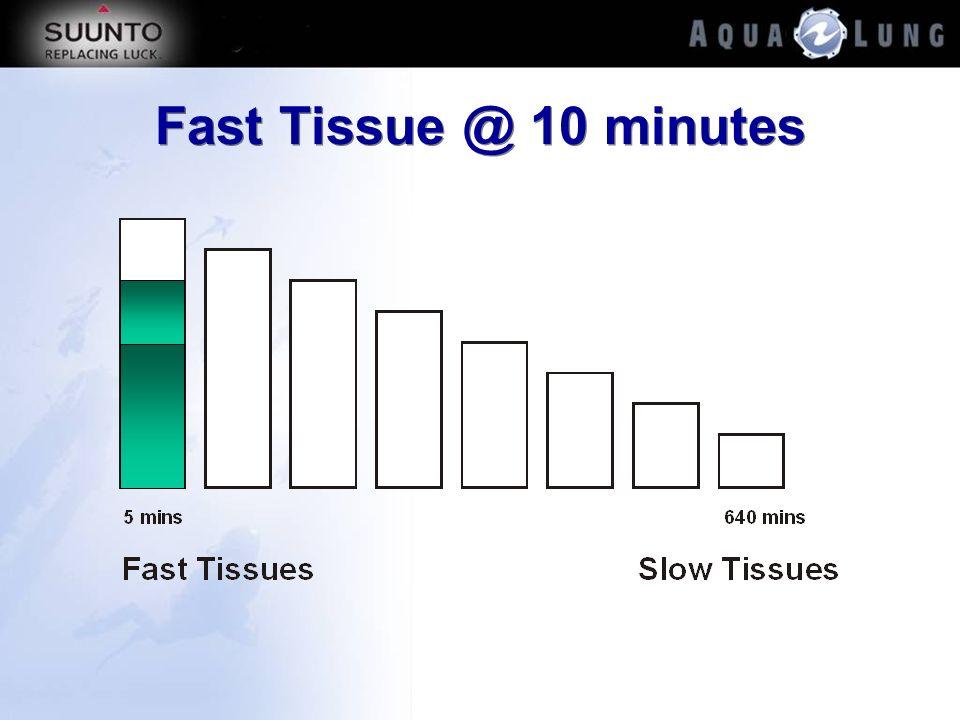 Fast Tissue @ 10 minutes