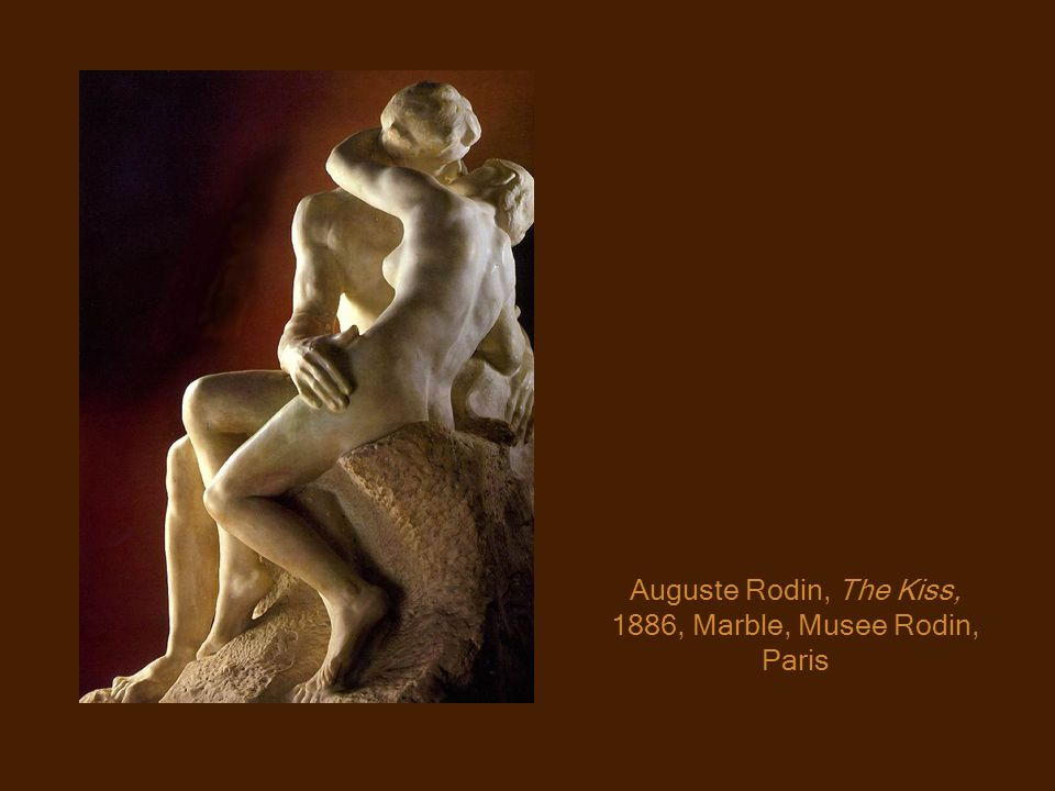 Auguste Rodin, The Kiss, 1886, Marble, Musee Rodin, Paris
