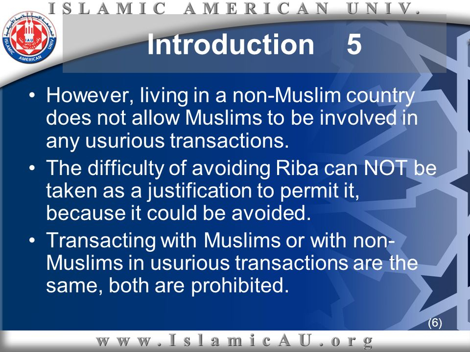 (57) b- The first contract of the above transaction is absolutely prohibited since it is the exact Riba mentioned in the Quran, Riba of loans ربا الديون c- To permit such a contract, the bank should buy the house, write its name on the title as an owner, and NOT as a lien holder, assume the risk of any possible damage, and completely own the property.