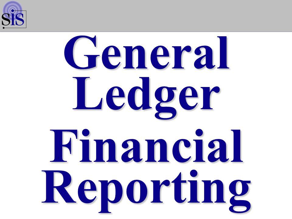 General Ledger Financial Reporting