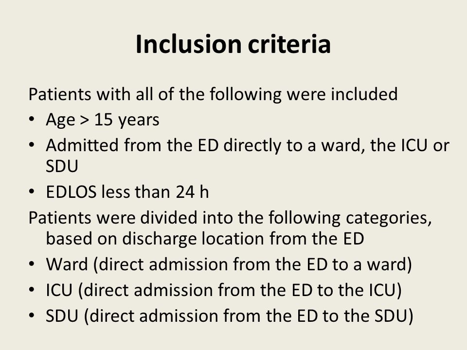 Hospital Mortality of patients with & without EDLOS >8 h All patientsWardICUSDU EDLOS < 8h4.1%3.2%23.6%7.2% EDLOS > 8h3.9%3.7%23.9%10.6% p- value0.16<0.010.520.09