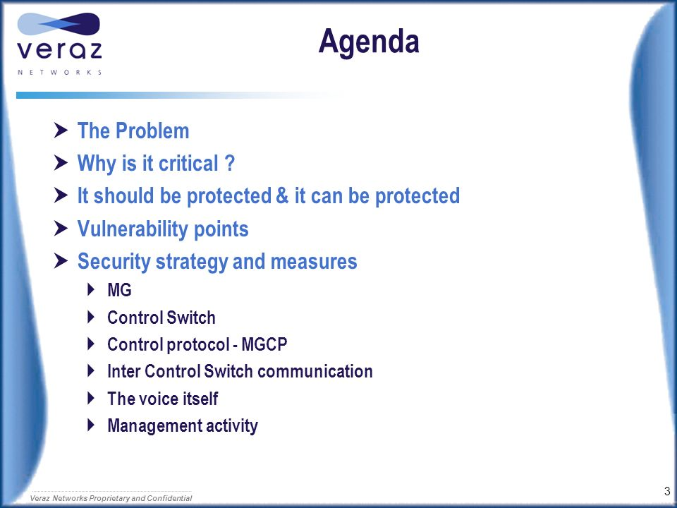 Security - The Big Challenge of IP Telephony February 2003 Yaron Oppenheim Director – Product Marketing