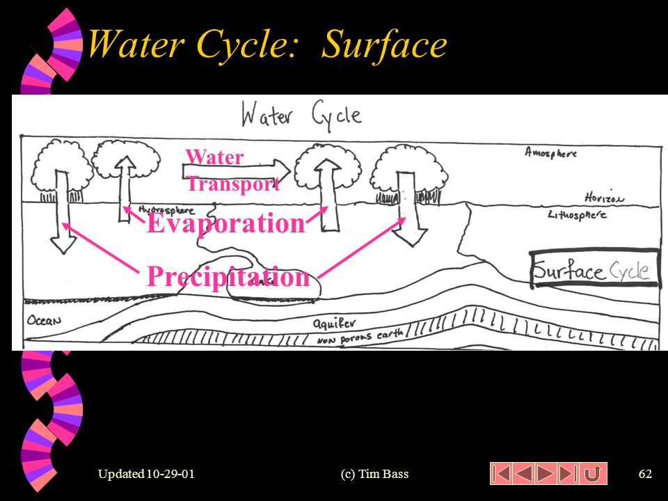Updated (c) Tim Bass61 Surface Water Cycle