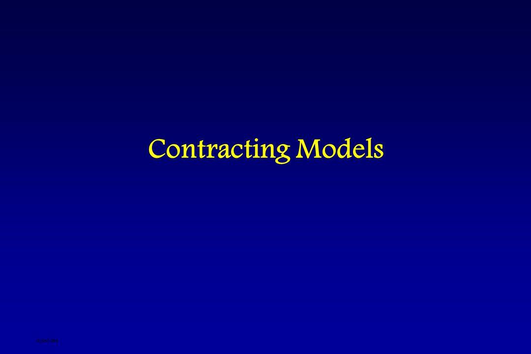 Contracting Models djsslides