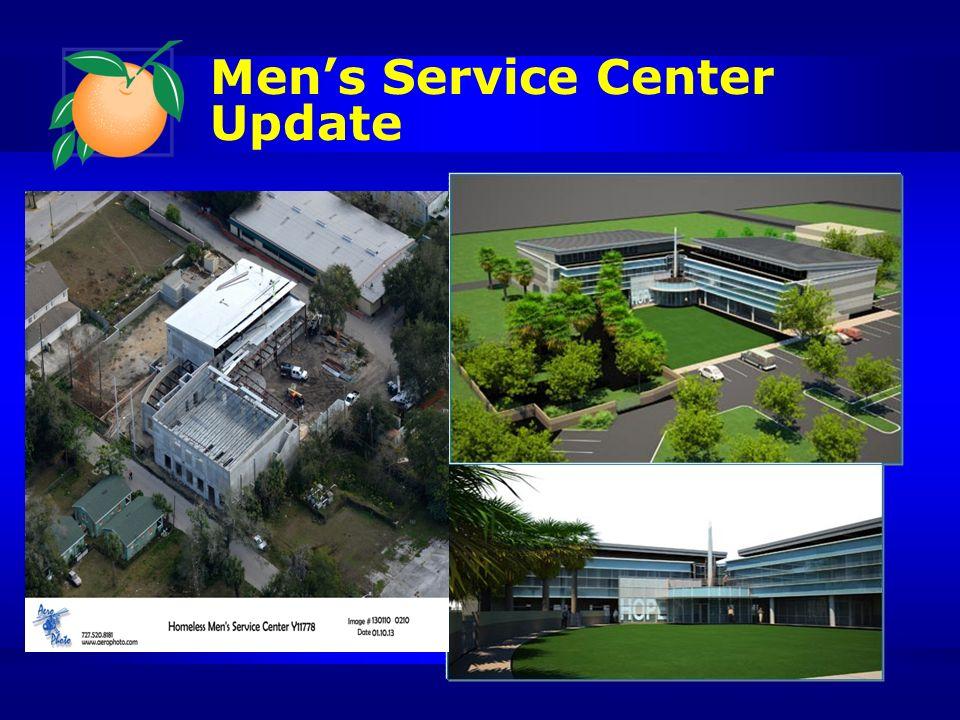 Mens Service Center Update
