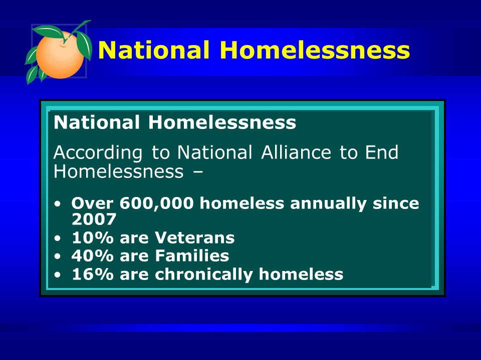 Central Florida Commission on Homelessness John Hillenmeyer, Managing Chair
