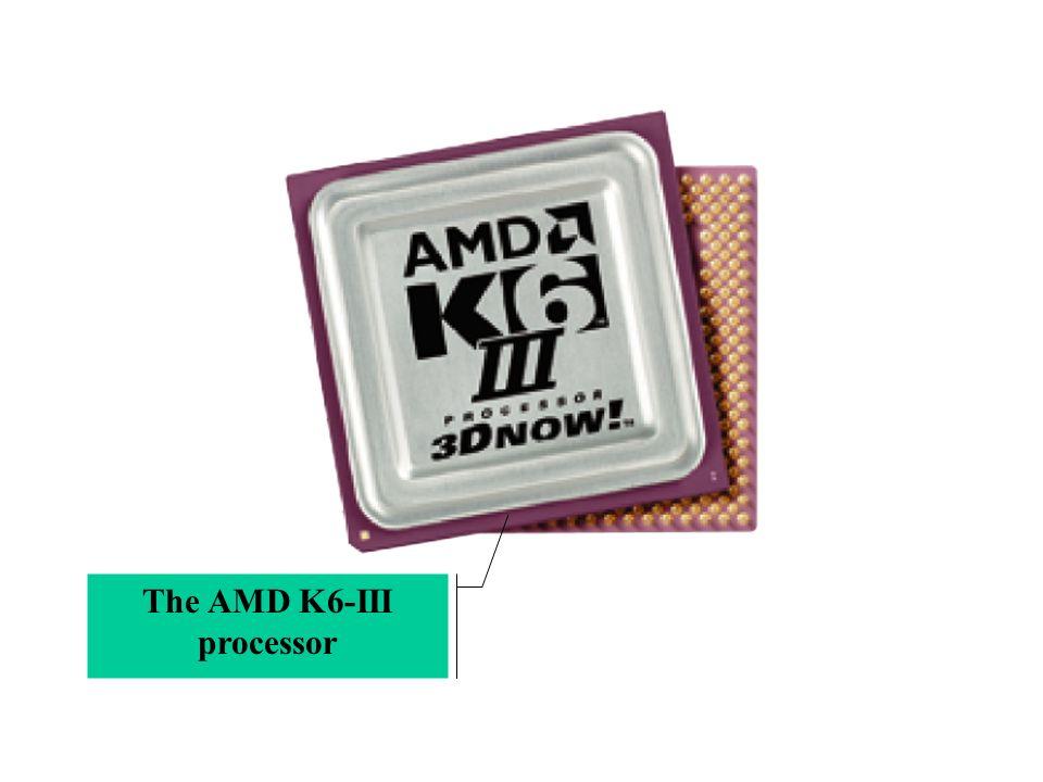 The AMD K6-III processor