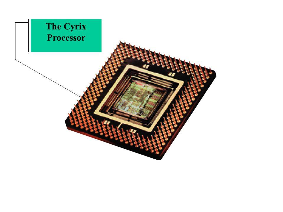 The Cyrix Processor