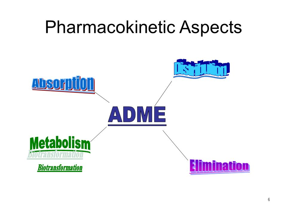 6 Pharmacokinetic Aspects