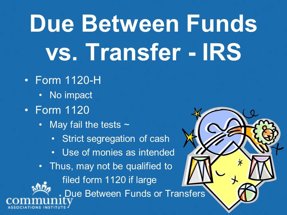 Due Between Funds vs.