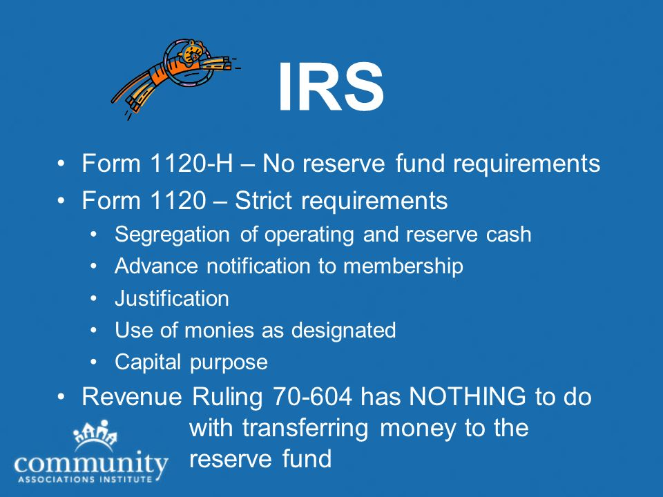 Industry Standards Reserves is used for the Fund for Major Repairs and Replacements Fund accounting is definitely the industry standard Trending to fund accounting in Washington