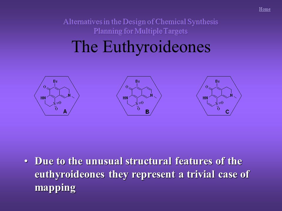 Home Due to the unusual structural features of the euthyroideones they represent a trivial case of mappingDue to the unusual structural features of the euthyroideones they represent a trivial case of mapping