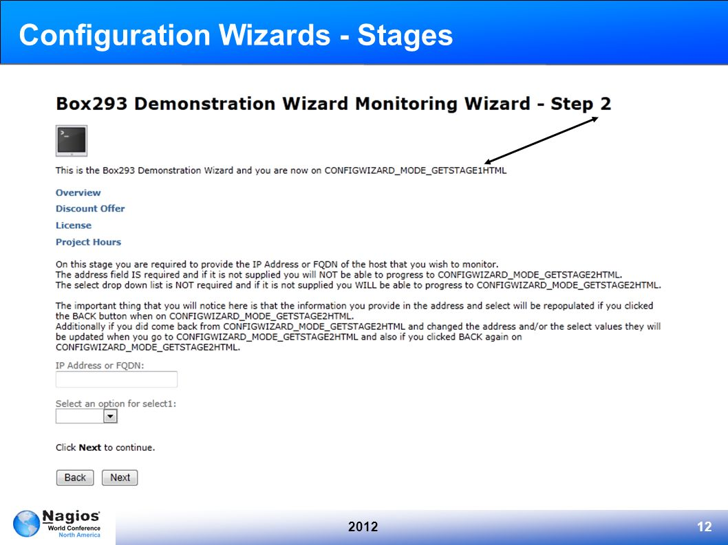201212 Configuration Wizards - Stages
