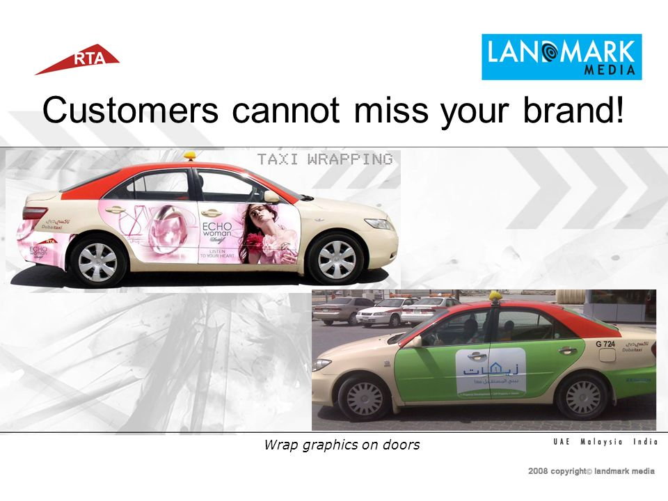 Customers love looking around! Get them with Side Window Ads