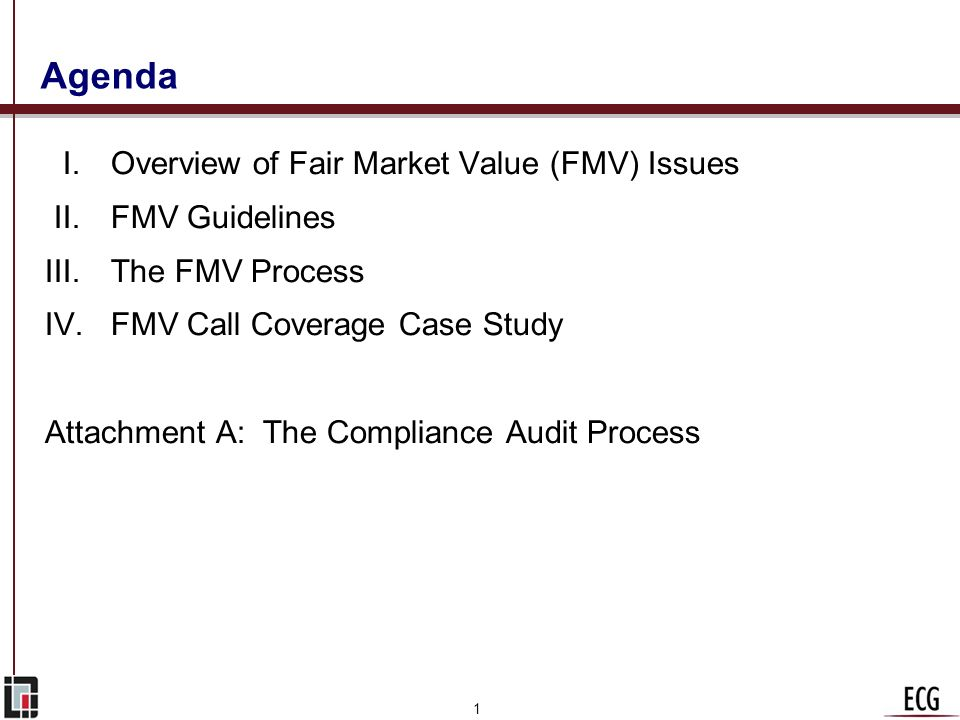 Assessing FMV in Hospital/Physician Arrangements: What Healthcare Executives Should Know September 3, 2009