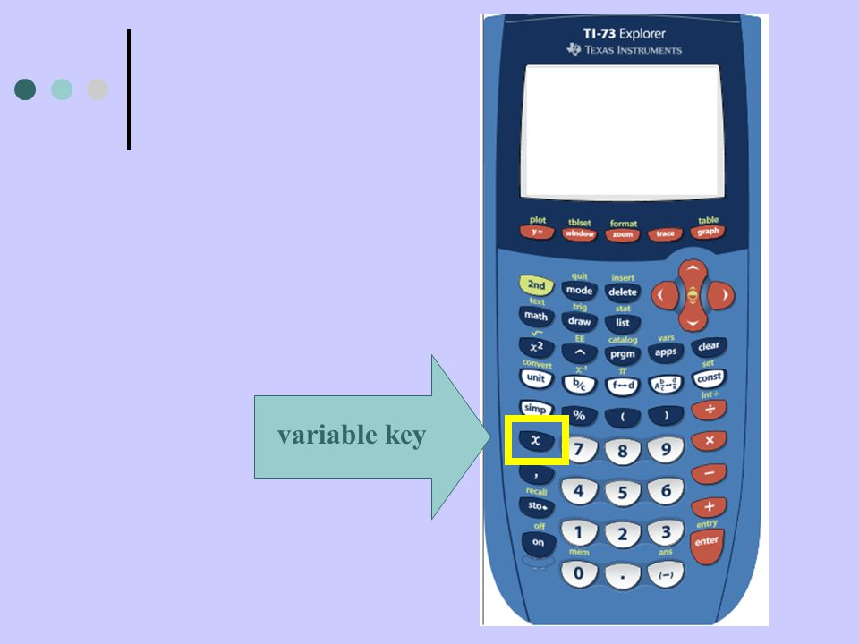 variable key