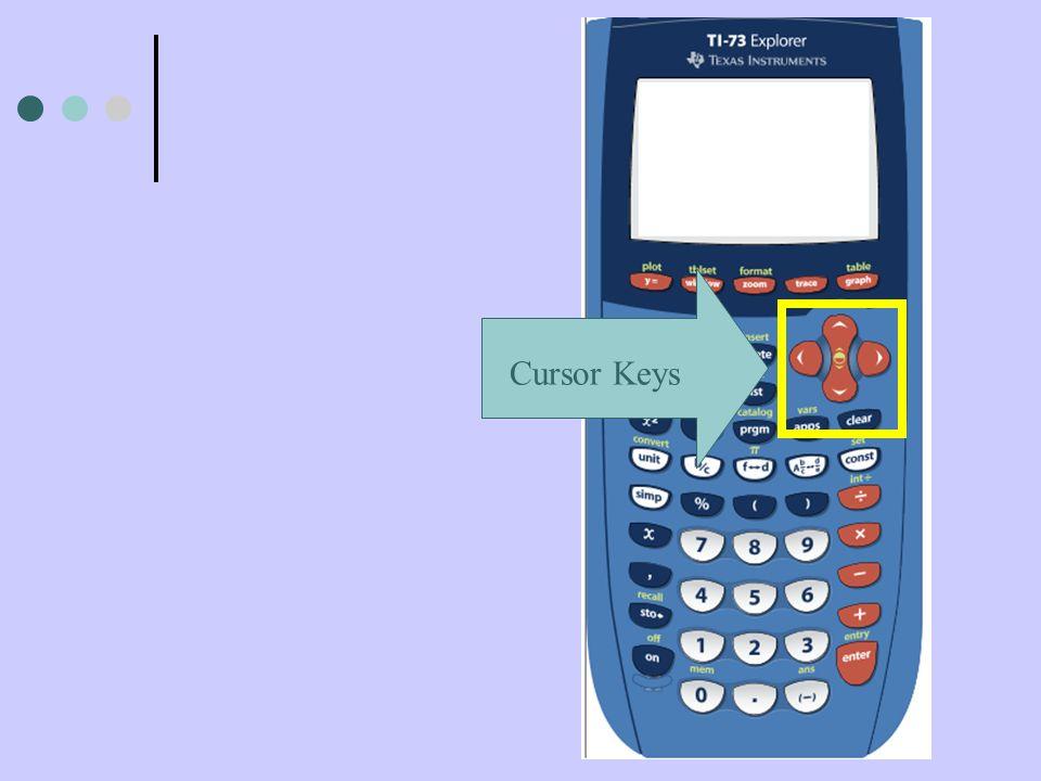 Cursor Keys