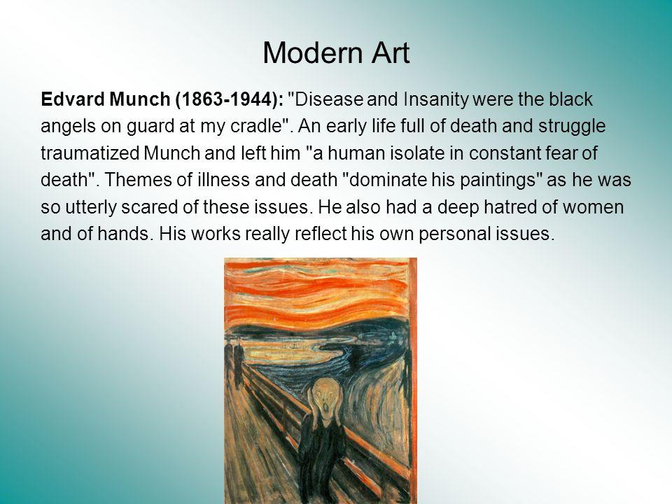Modern Art Edvard Munch (1863-1944):