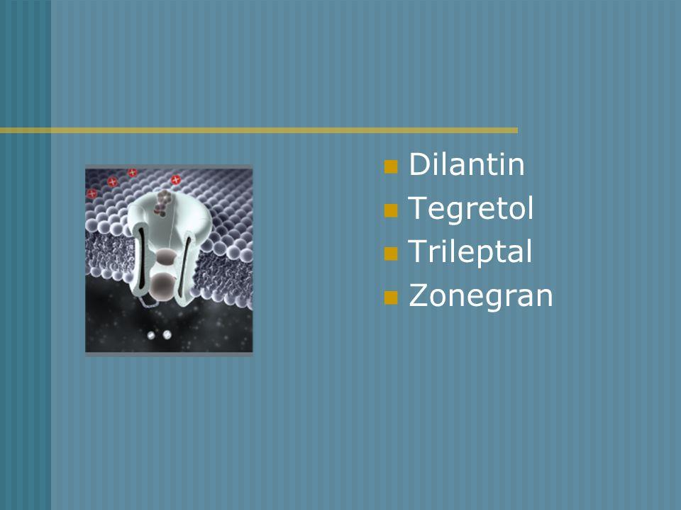 Dilantin Tegretol Trileptal Zonegran