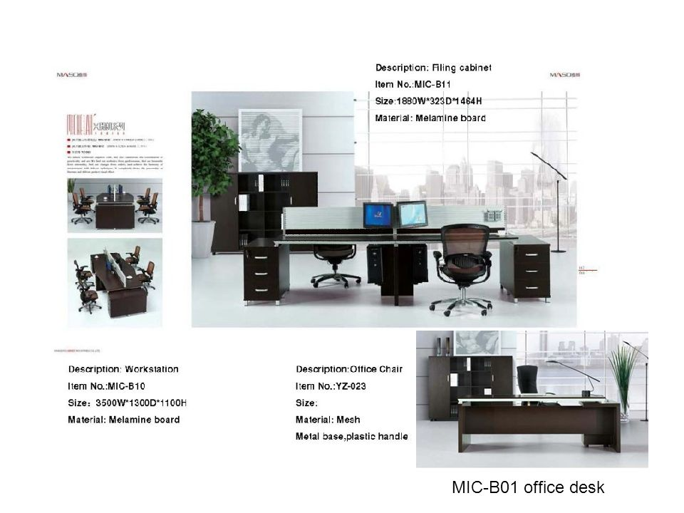 MIC-B01 office desk