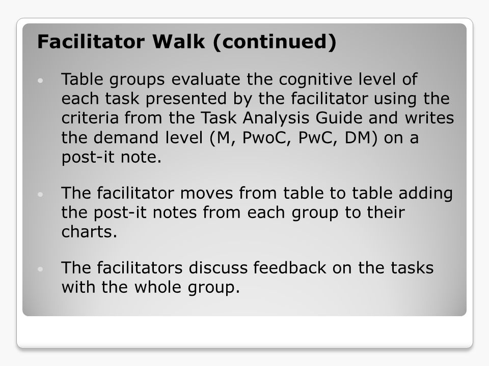 Reflection Review of the CCSS in Mathematics Article - Students Ideas About Math Trail Mix Problem Looking at Student Work Using Video to Examine Teacher Practice Adapt-a-Task (Low and High Level Tasks)