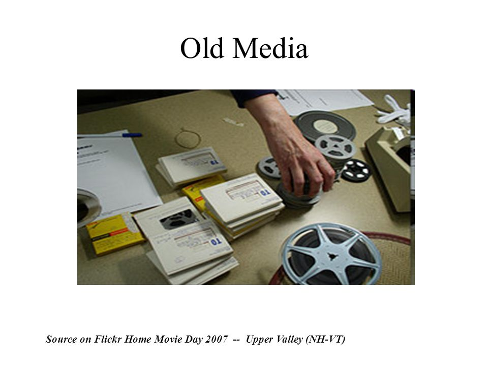 Old Media Source on Flickr Home Movie Day 2007 -- Upper Valley (NH-VT)